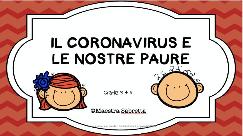 paure e coronavirus
