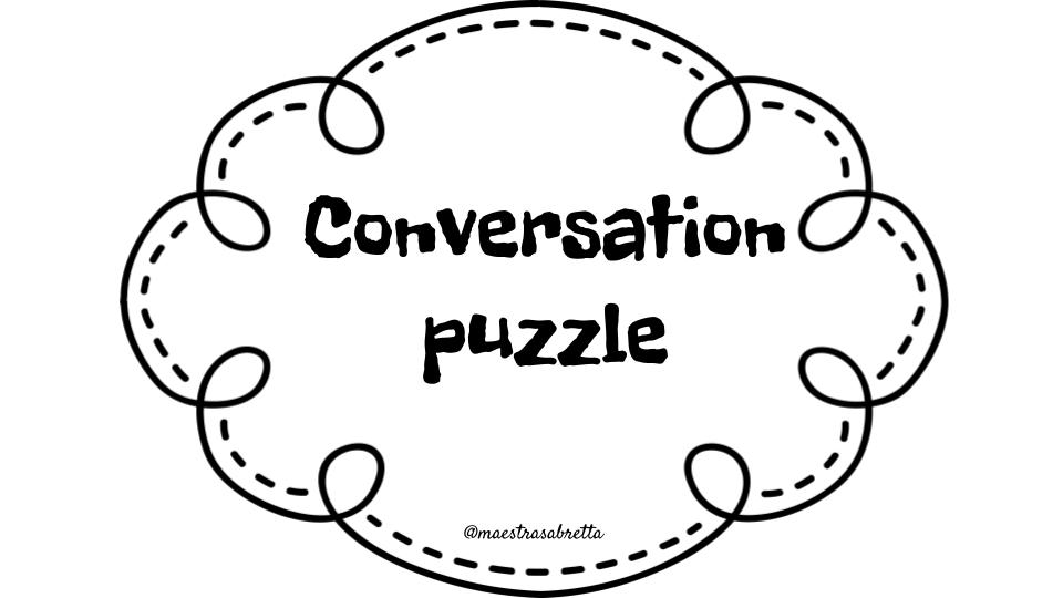 CONVERSATION PUZZLE