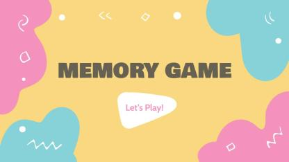 Copia di Memory Game by Slidesgo